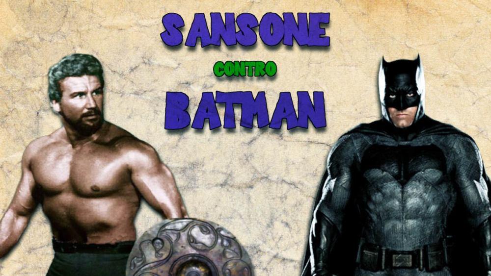 Sansone contro Batman Peplum Italiani