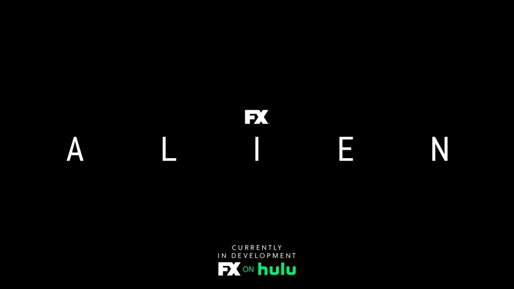 Alien logo della serie tv