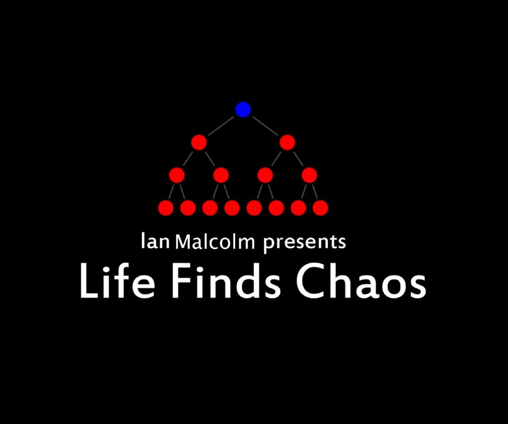 Life Finds Chaos Ian Malcolm serie