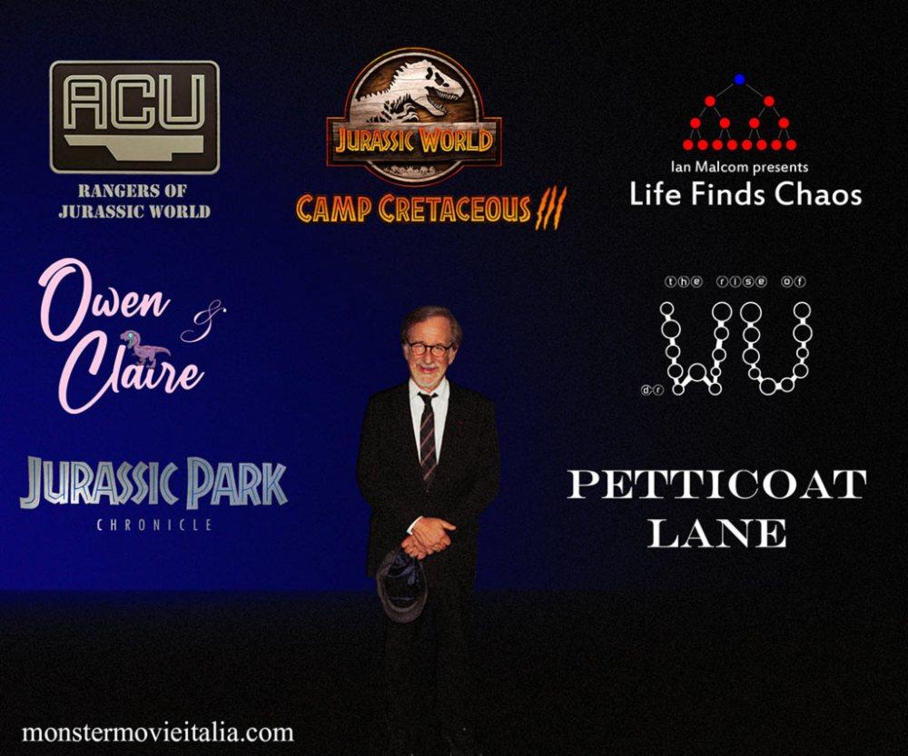 Logo Jurassic Universe Spielberg