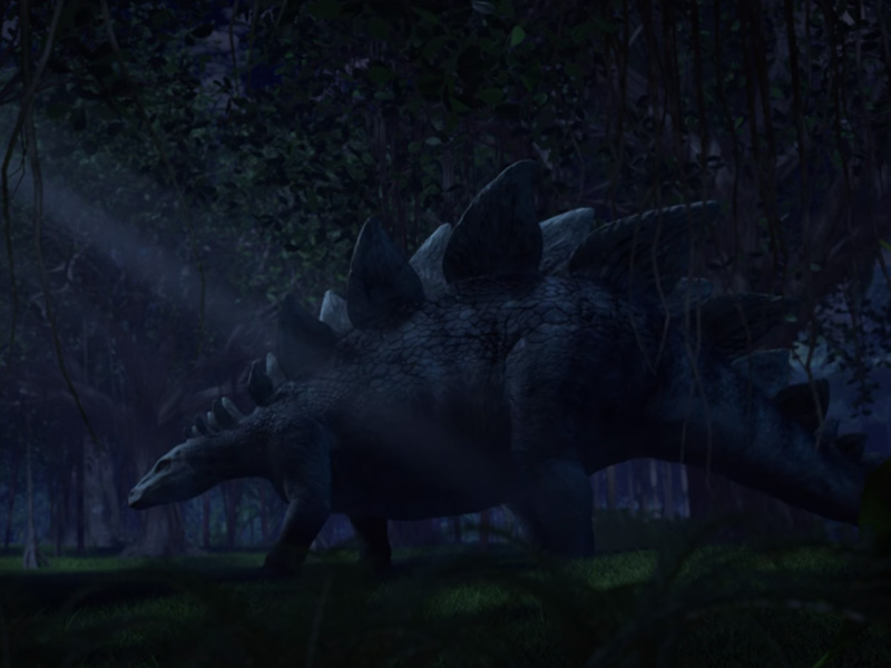 Camp Cretaceous 2 stegosauro