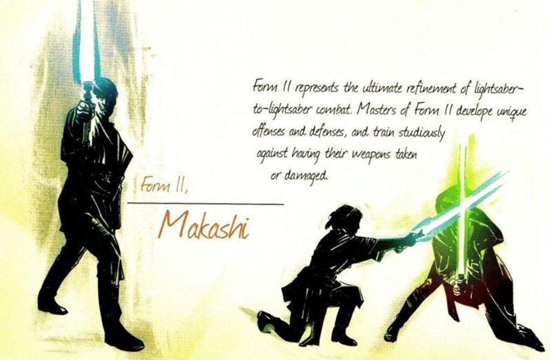 Makashi tabella con descrizione