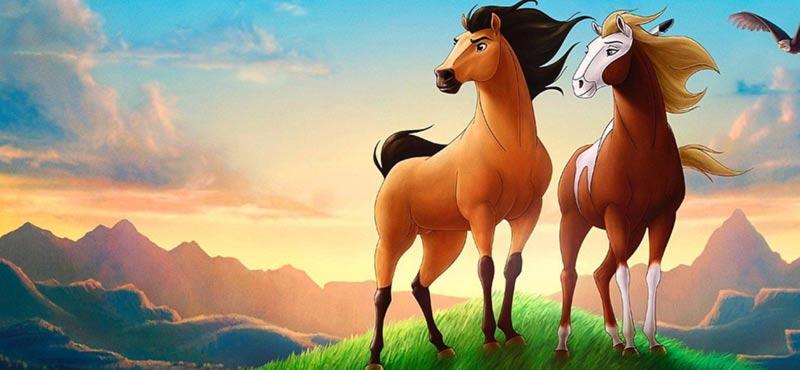 Spirit cavallo selvaggio protagonisti