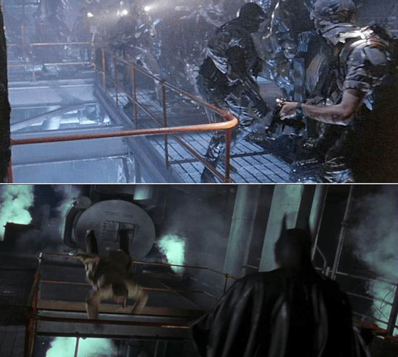 Aliens set axis chemicals di Batman