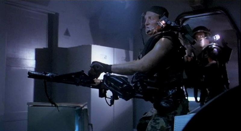 Aliens smart gun armi dei marines