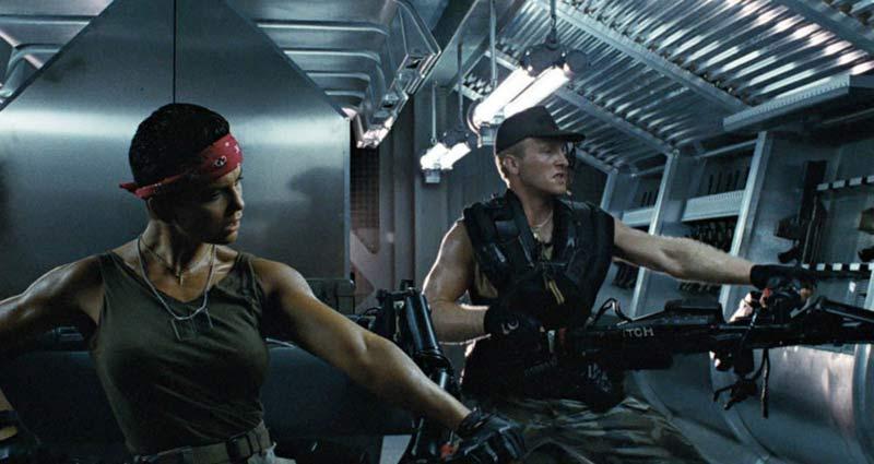 Aliens soldati vasquez e drake