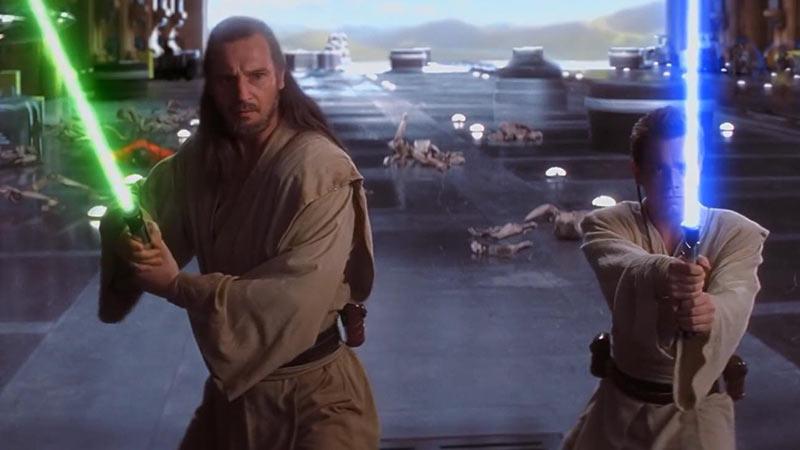 Qui-Gon Jinn e Obi-Wan Kenobi