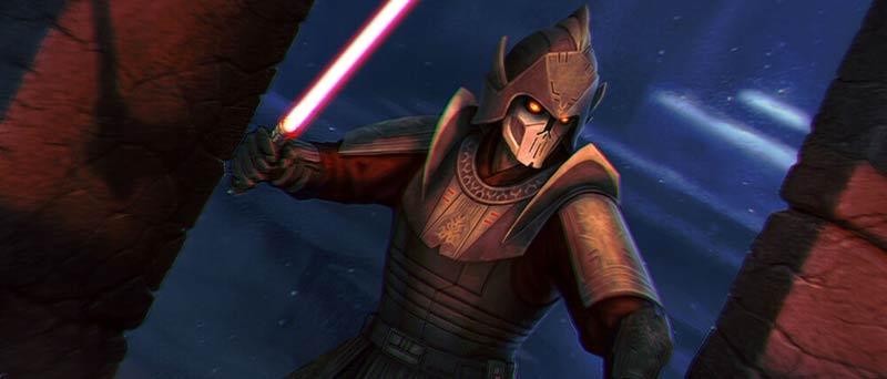 Darth Bane nella serie the clone wars