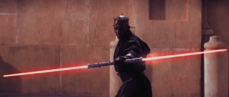 Darth Maul star wars minaccia fantasma