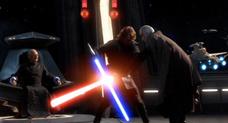Anakin vs Dooku Invisible Hand