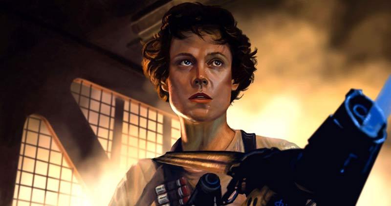 Ellen Ripley Aliens scena alveare