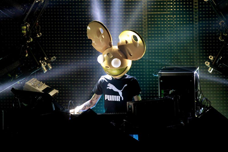 Deadmau5 dj music producer maschera