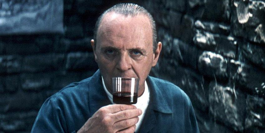 Doctor Lecter bicchiere di Chianti
