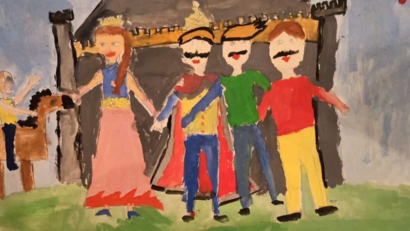Ickabog disegno bambino fan art