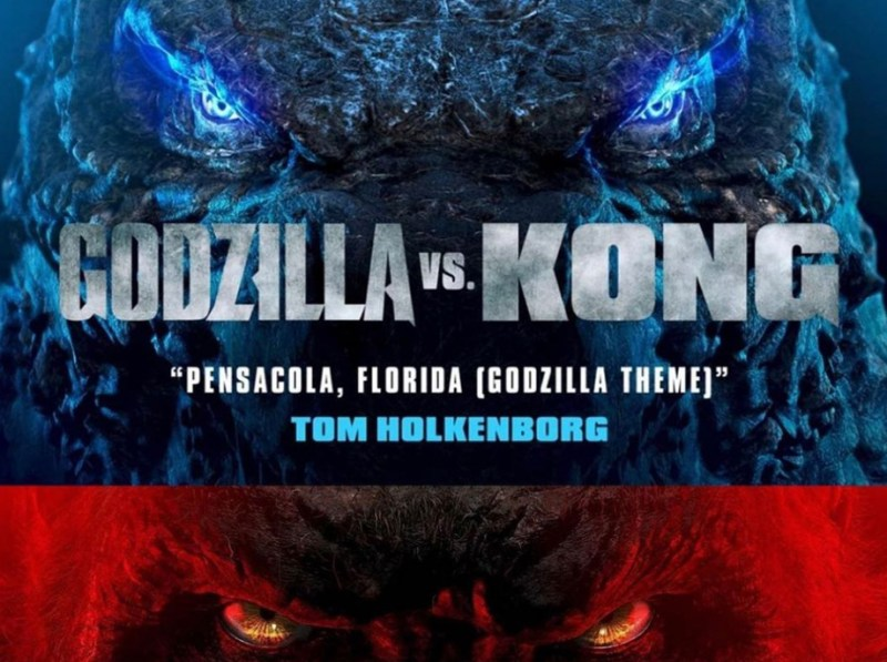 Godzilla vs Kong Tom Holkenborg poster
