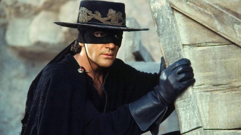 Maschera di Zorro Antonio Banderas