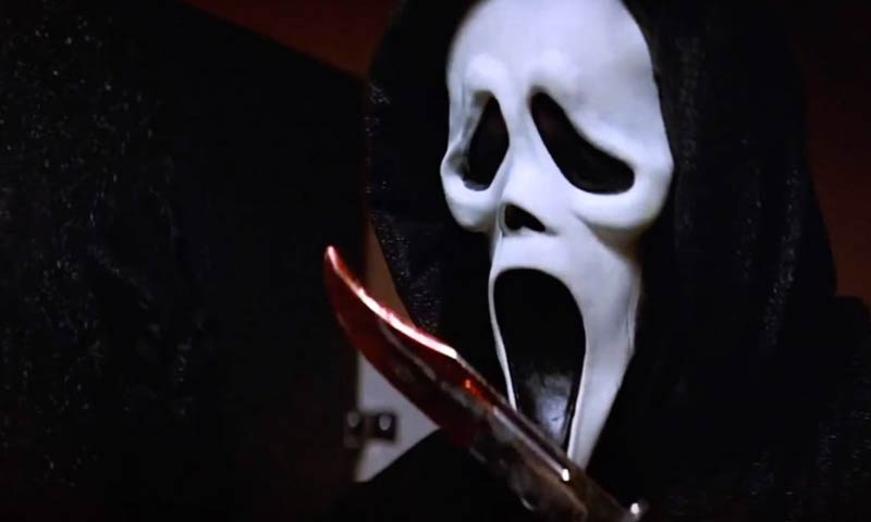 Scream 2 ghostface dettagli