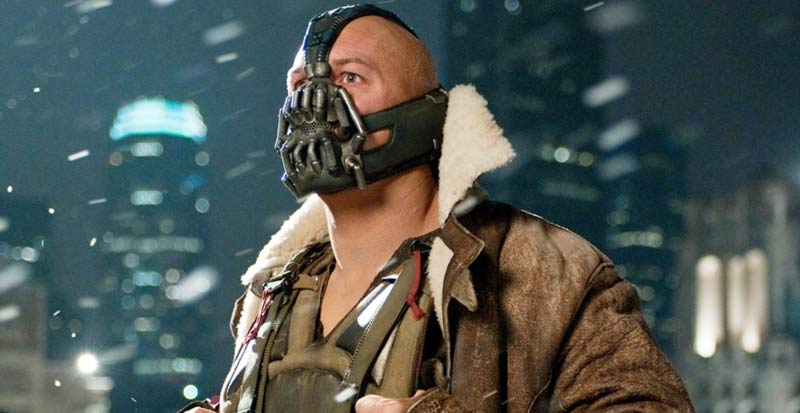 Bane Tom Hardy Dark Knight Rises film