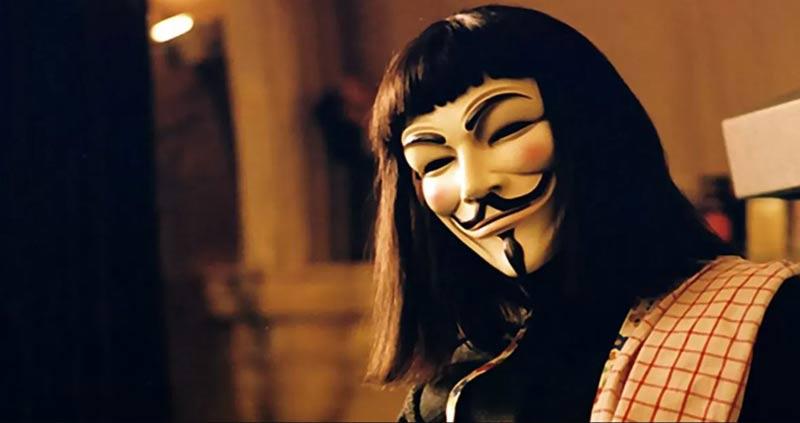 V per vendetta maschera