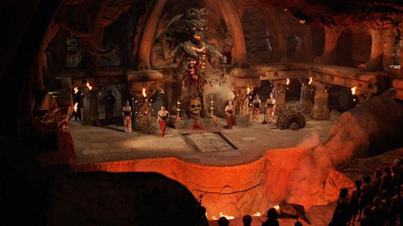 Statua della dea Kali Temple of Doom