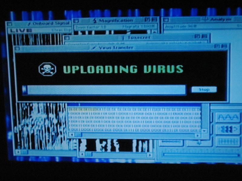Virus schermata Independence Day
