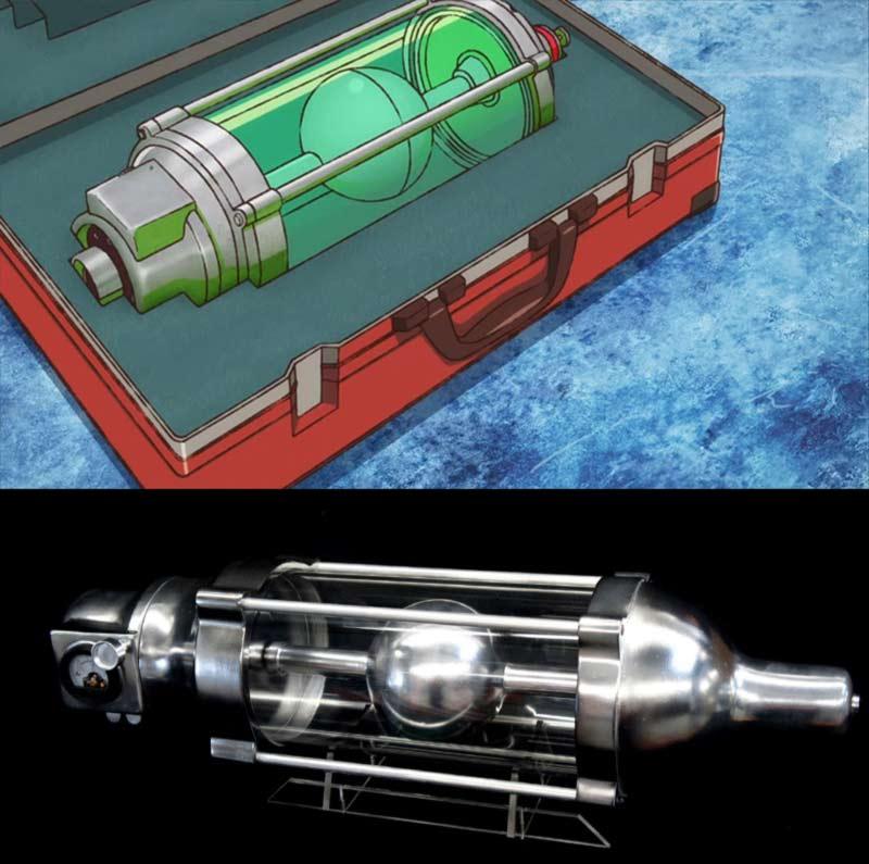 oxygen destroyer serie godzilla singular point