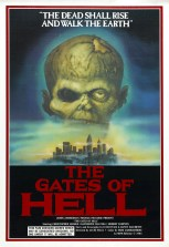 The Gates of Hell (aka City of the Living Dead) movie poster