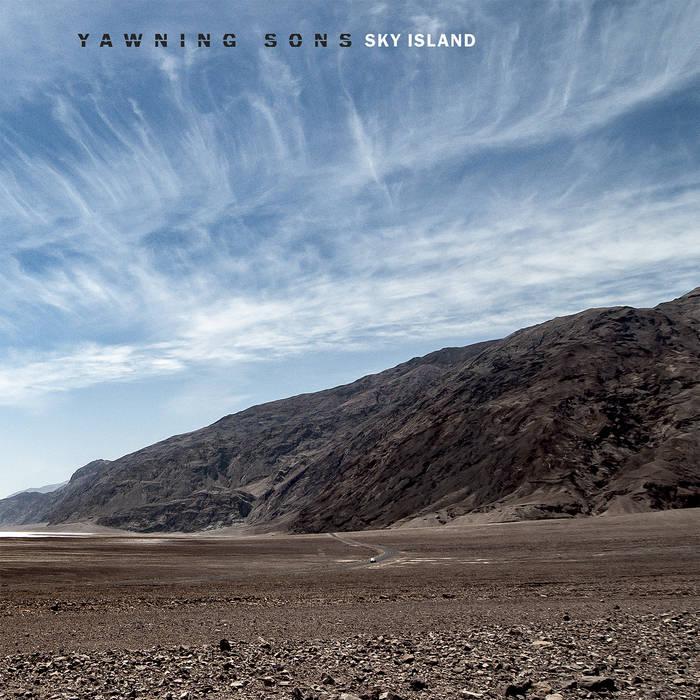 "Yawning Sons' ""Sky Island"" Album Cover"