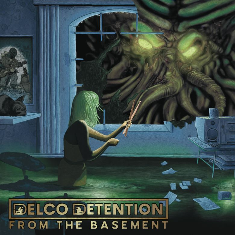"""Delco Detention - """"From The Basement"""" Album Cover"""