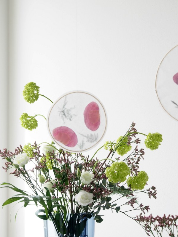 DIY Floral Suncatchers