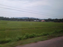 We are on the way to Vang Vieng