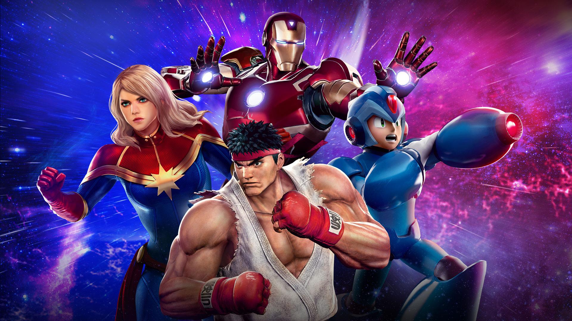 Image result for Marvel vs capcom infinite 1920x1080
