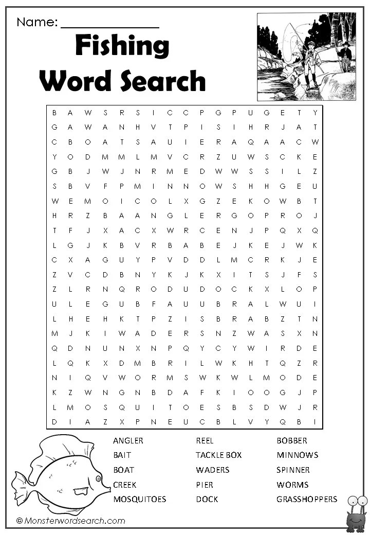 It is an image of Mesmerizing Word Search Printable Free