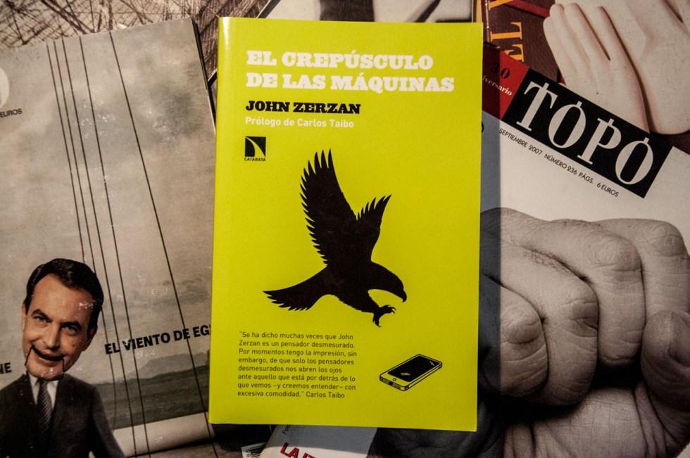 livros El crepúsculo de las maquinas - John Zerzan
