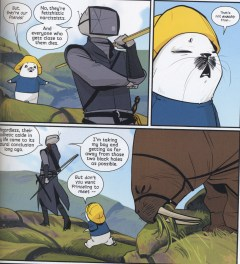 Ghüs and his walrus Friendo are the real heart of Saga.