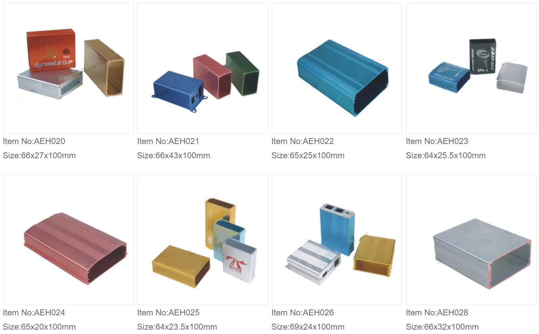Aluminium Ekstruderede Kasser 2