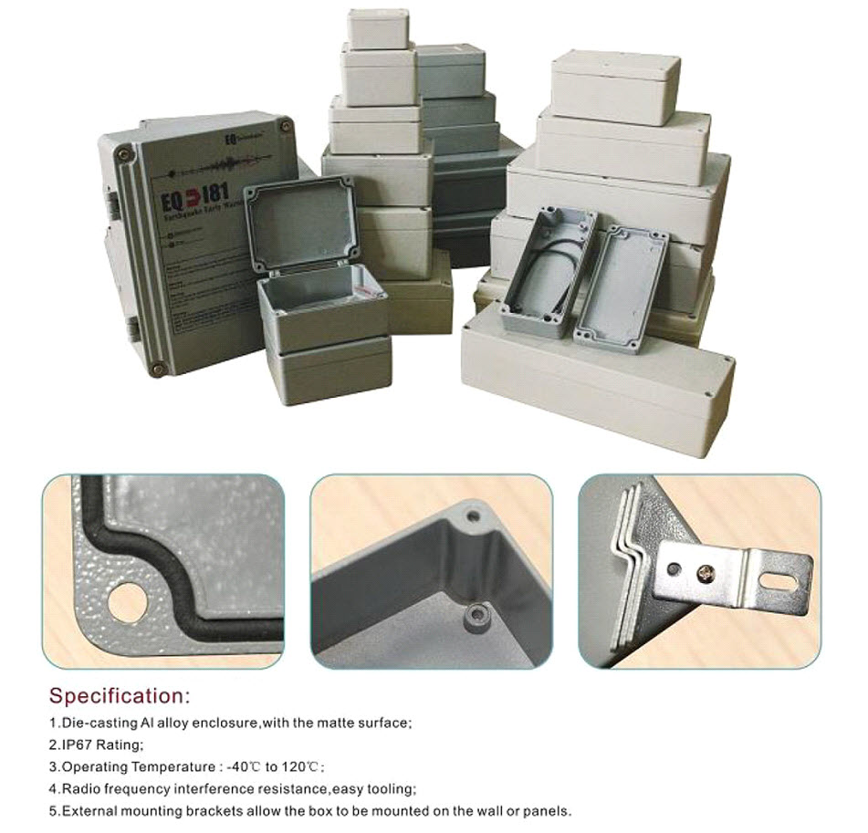 Aluminium Vandtætte Kasser
