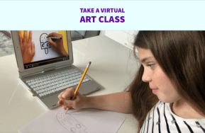 Virtual art classes