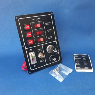 30299 Schakelpaneel en testpaneel compleet met accutester