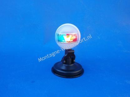 Bi-color boegverlichting met zuignap op batterijen 2 in 1