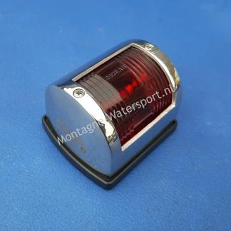 70323 RVS Bootverlichting bakboord rood