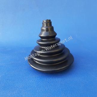 70207 Kabeldoorvoer 75 mm zwart