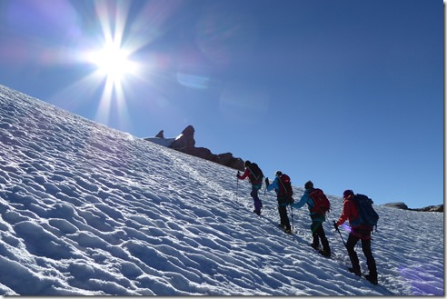 Alpinisme au Grand Paradis