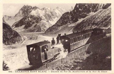 Chemin de Fer du Montenvers et la Mer de Glace