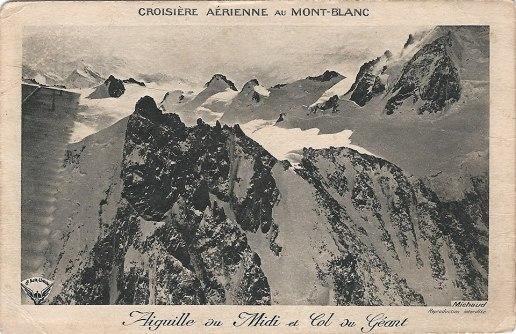 Croisière aérienne au MONT-BLANC Aiguille du Midi et Col du Géant