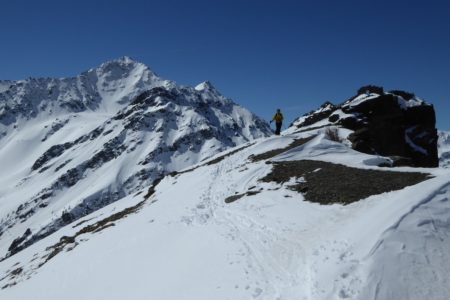 Ski de randonnée à la Punta Croce