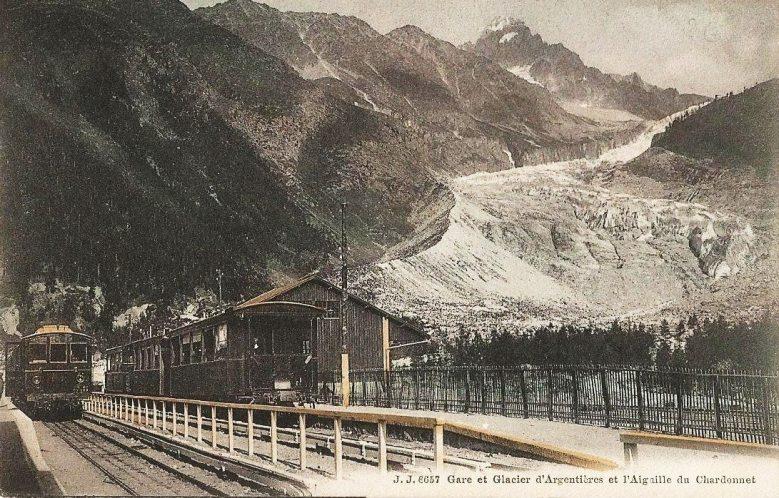 Gare et Glacier d'Argentières