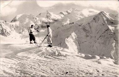 Le Mont Blanc en hiver