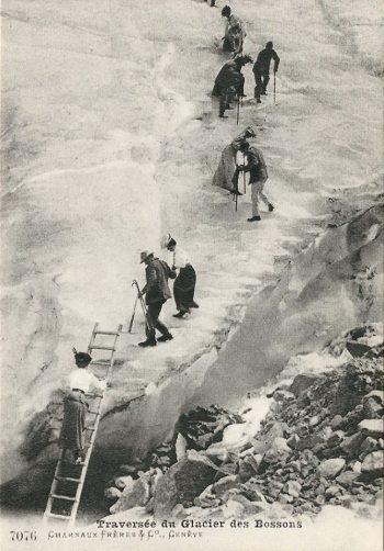 Traversée du Glacier des Bossons Charnaux