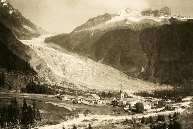 Argentière et le glacier